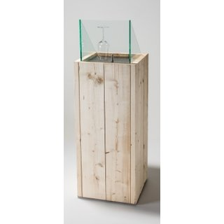 Ice Chiller Cube Holz