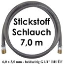 Stickstoff Schlauch 7,0 m - 6,0 x 3,5 mm 20 bar...