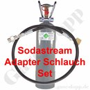 CO2 Sodastream Adapter Schlauch Set Länge 2,5 m + 2 kg...