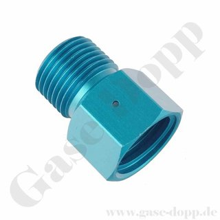 Adapter CGA-320 AG x TR21x4 IG - CO2 Adapter - Sodastream Flaschen Gewinde