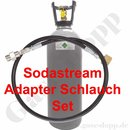 CO2 Sodastream Adapter Schlauch Set Länge 1,5 m + 6 kg...